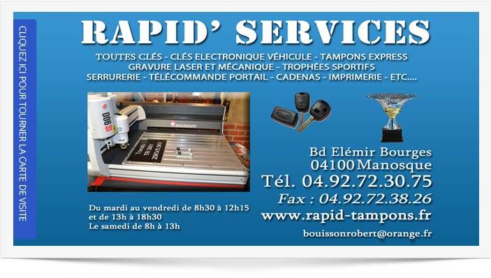 RAPIDSERVICES 04100 Manosque